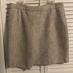 Sparkling Tweed Skirt